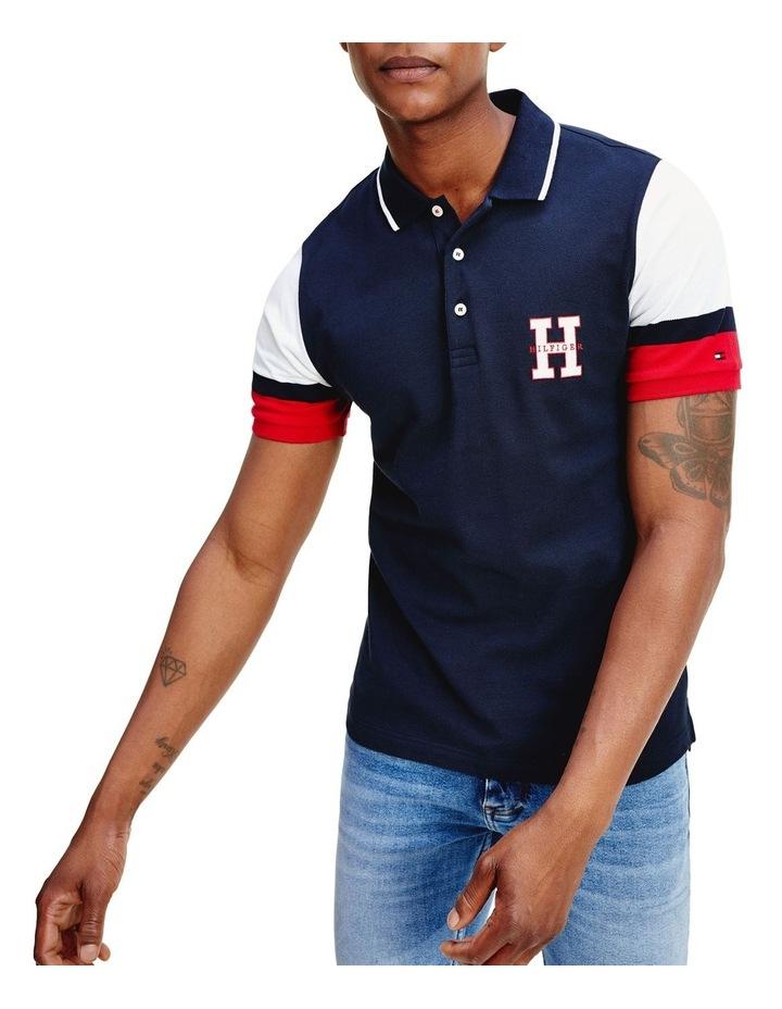 Cool Eng Sleeve Slim Polo image 1