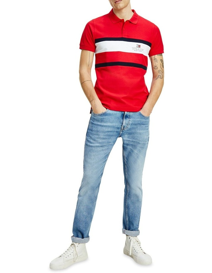 Chest Stripe Slim Polo image 1