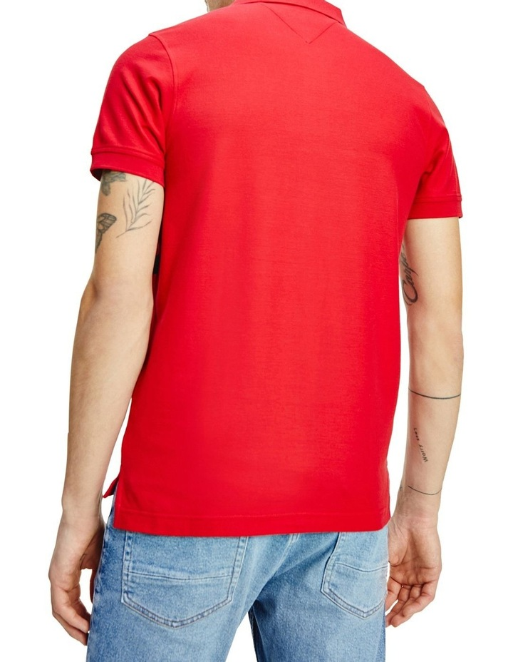Chest Stripe Slim Polo image 2
