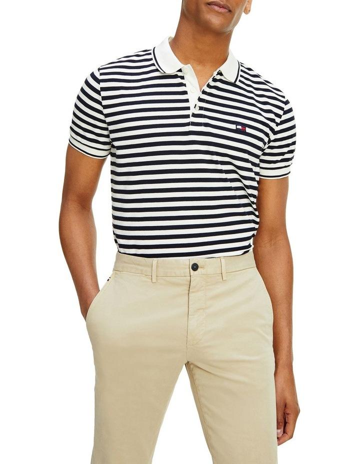 Wavy Flag Stripe Regular Polo image 2