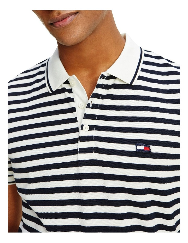 Wavy Flag Stripe Regular Polo image 4