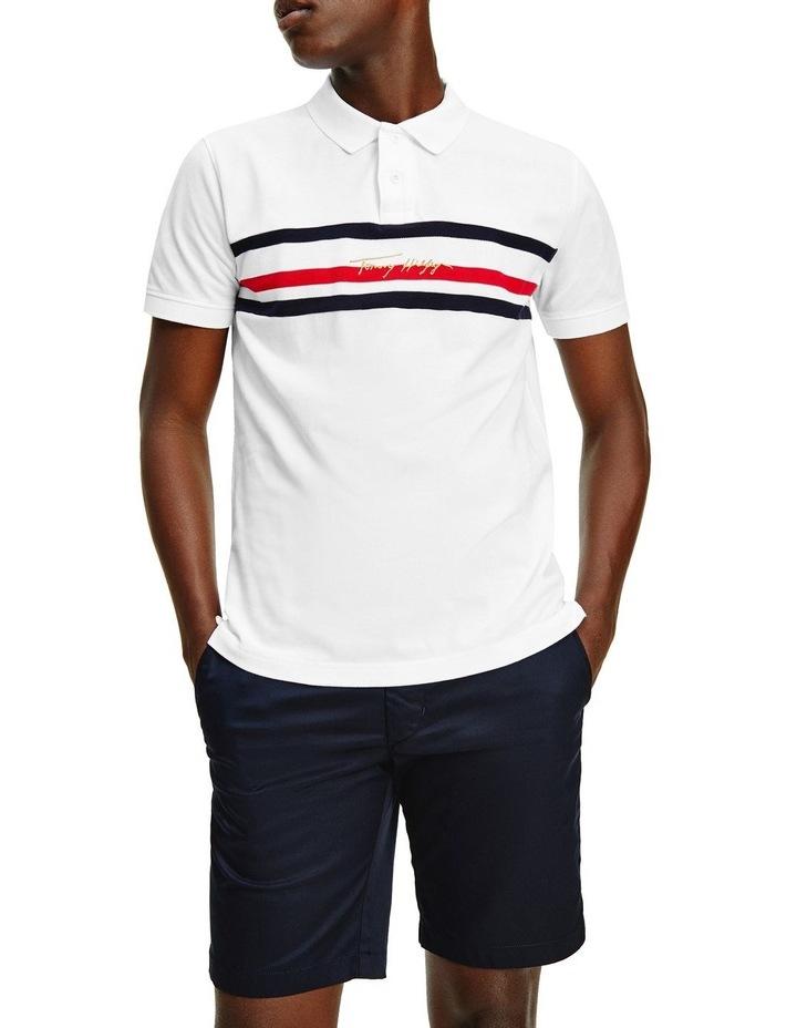 Global Stripe Signature Regular Polo image 1