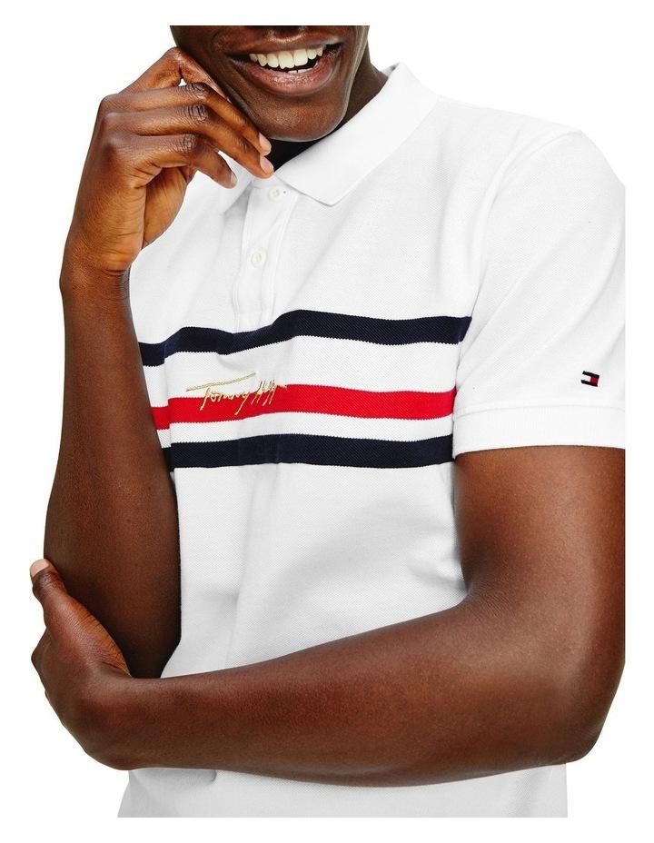 Global Stripe Signature Regular Polo image 3