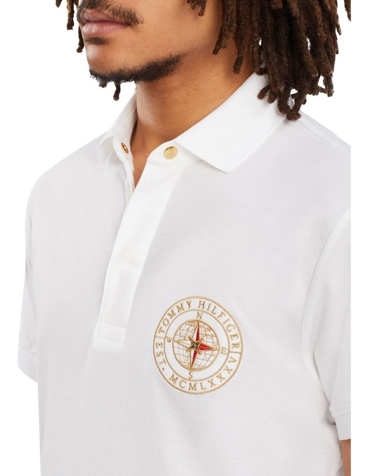 Icon Concealed Placket Slim Polo image 3