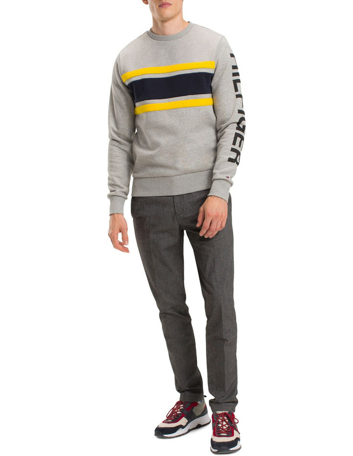 CNS Chest Stripe Logo Sweatshirt image 1