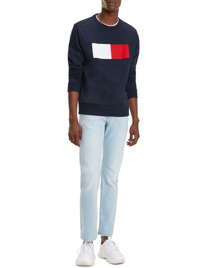 Colour-Blocked Flag Sweatshirt image 2