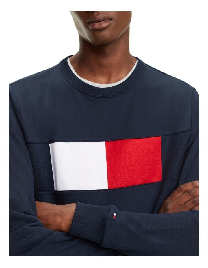 Colour-Blocked Flag Sweatshirt image 4