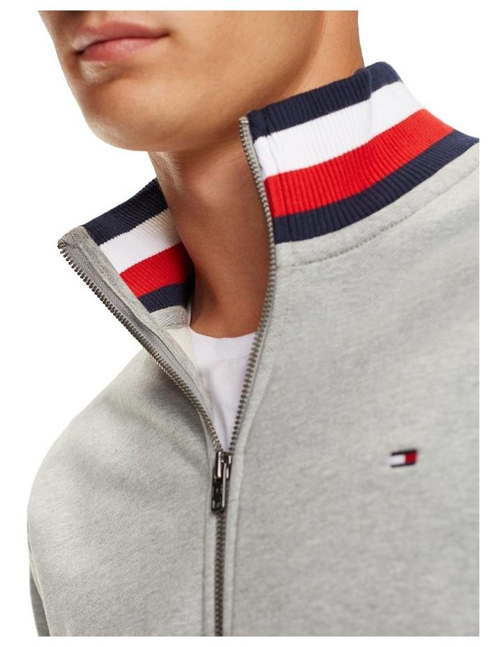 Signature Tape Zip-Thru Sweatshirt image 4