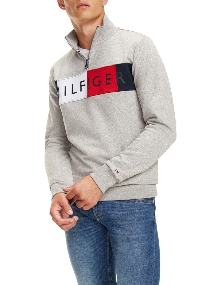 Zip-Thru Logo Sweatshirt image 1