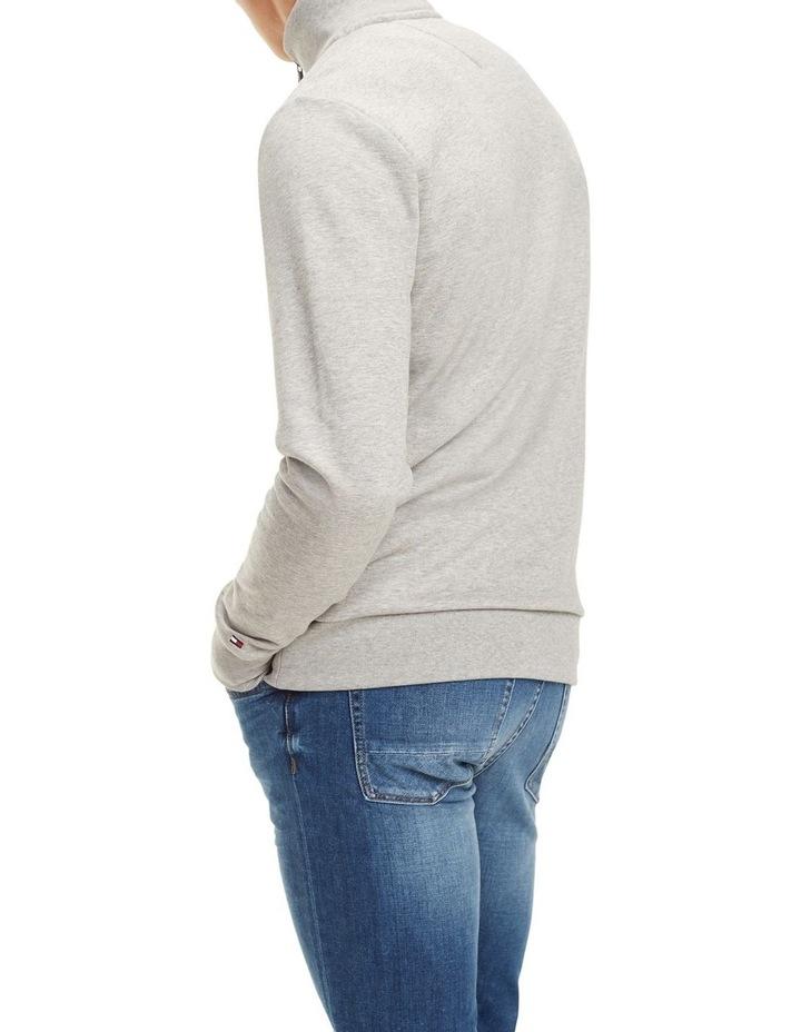 Zip-Thru Logo Sweatshirt image 3