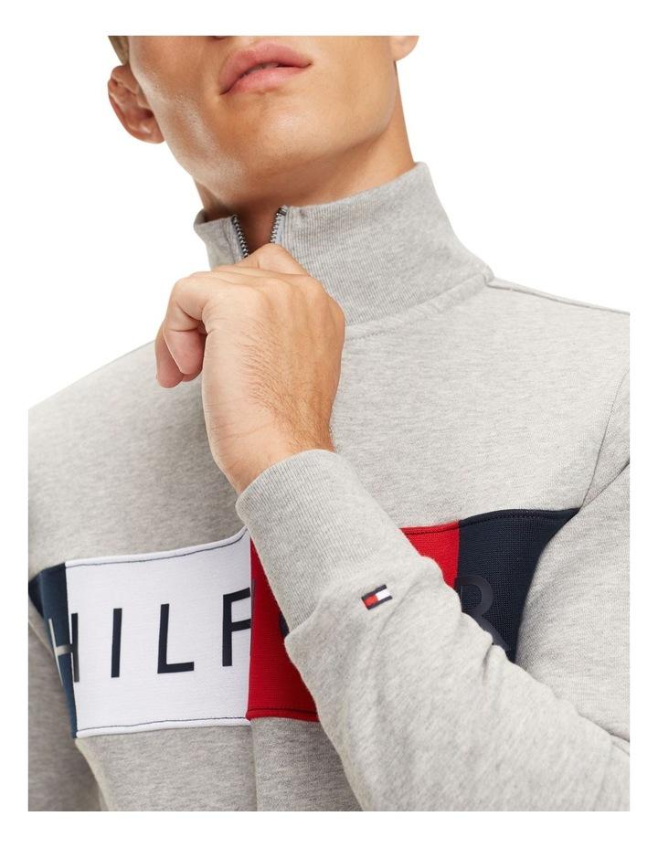 Zip-Thru Logo Sweatshirt image 4