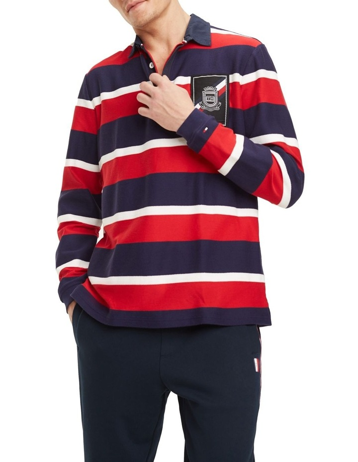 Herringbone Textured Rugby image 1