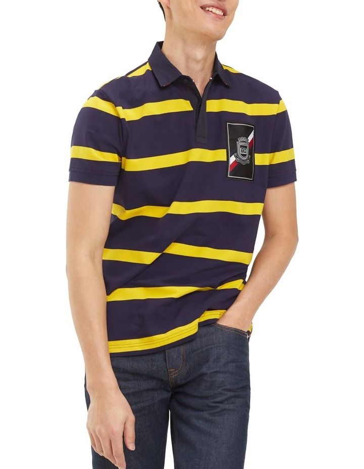Rugby Striped Regular Polo image 1
