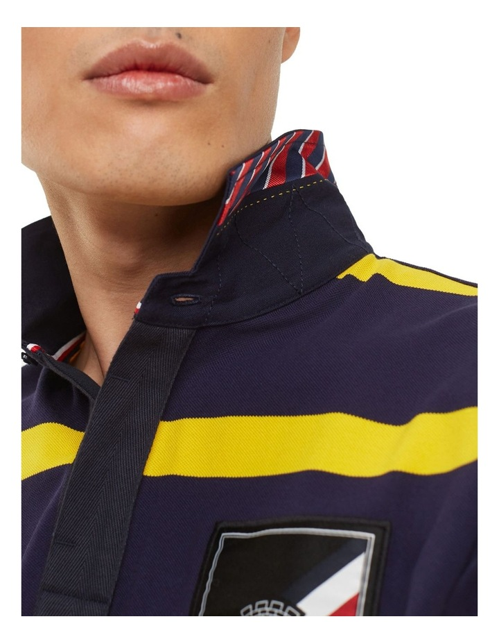 Rugby Striped Regular Polo image 3
