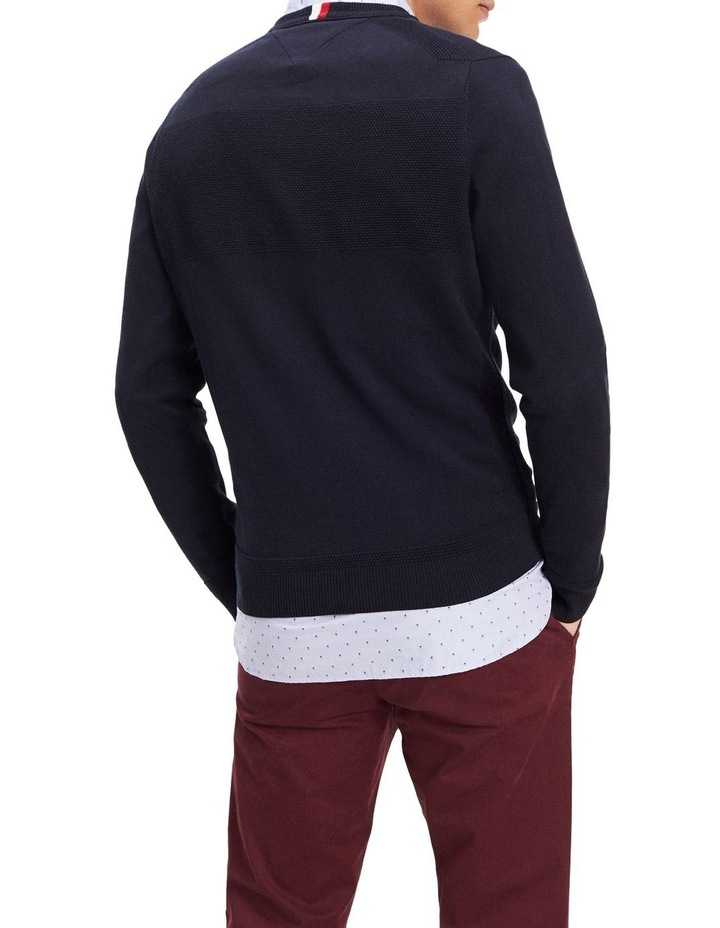 Placed Structure Branded Sweater image 2