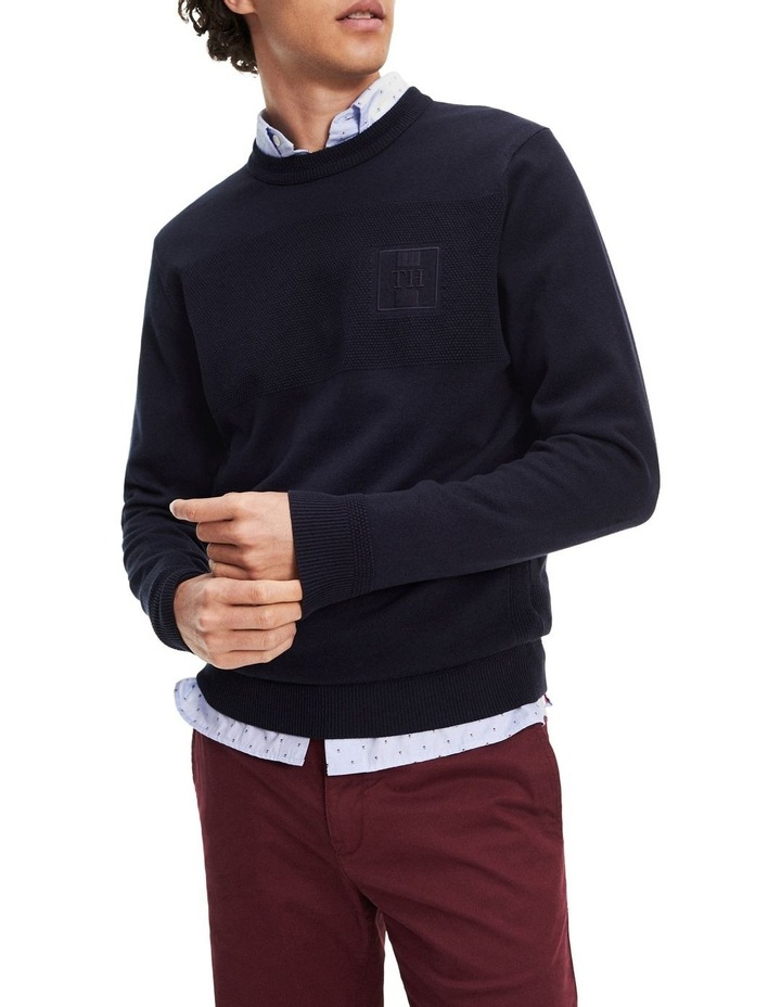 Placed Structure Branded Sweater image 4