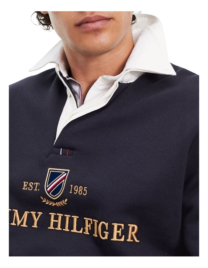 Icon Pure Cotton Rugby Shirt image 3