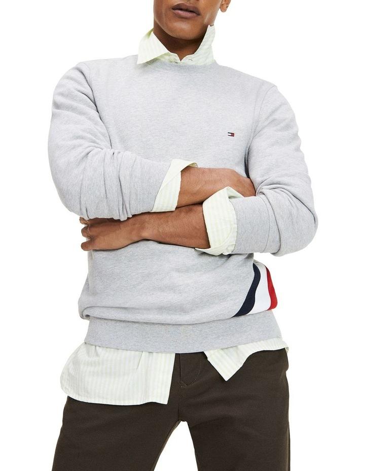 Colour-Blocked Crew Neck Sweatshirt image 1