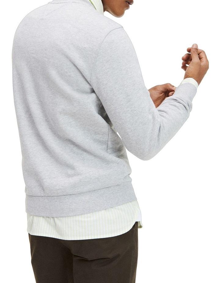 Colour-Blocked Crew Neck Sweatshirt image 4