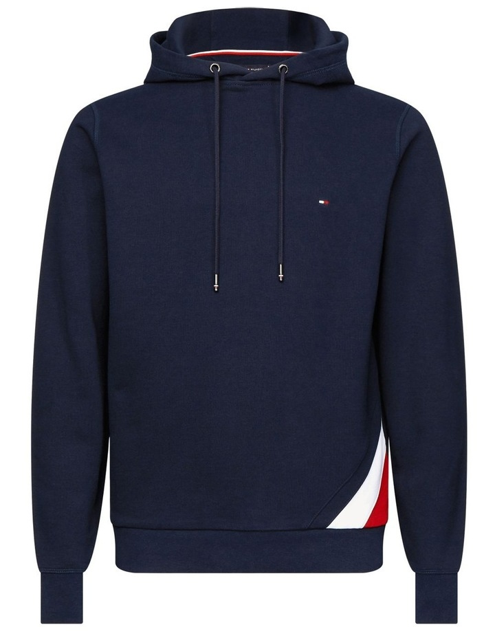 Colour-Blocked Drawstring Hoodie image 3