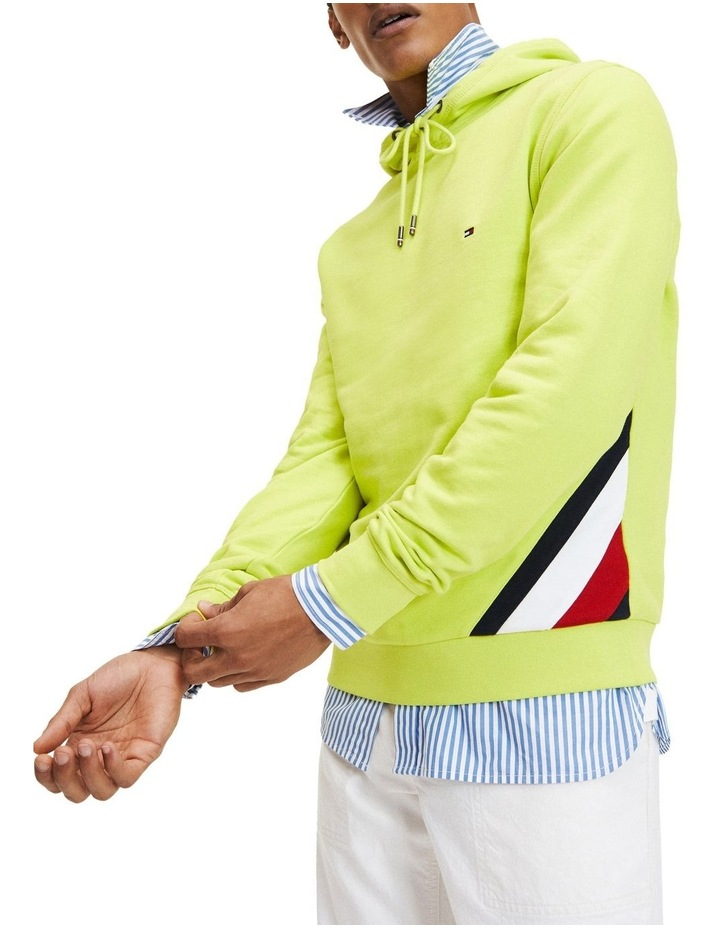 Colour-Blocked Drawstring Hoodie image 1