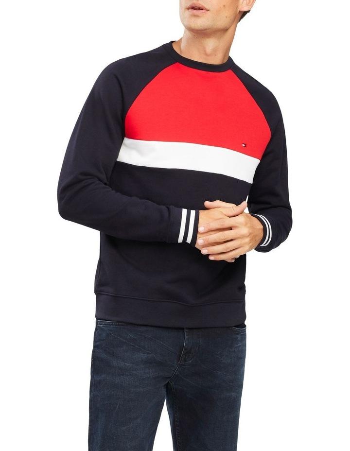 Colour Block Sweatshirt image 1