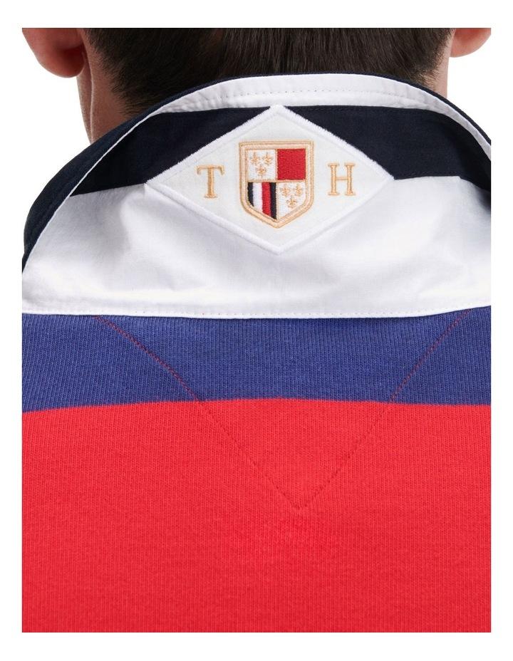 Varsity Block Stripe Rugby image 4