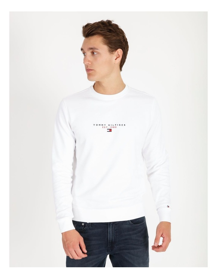 Essential Tommy Crewneck Sweat Top image 1