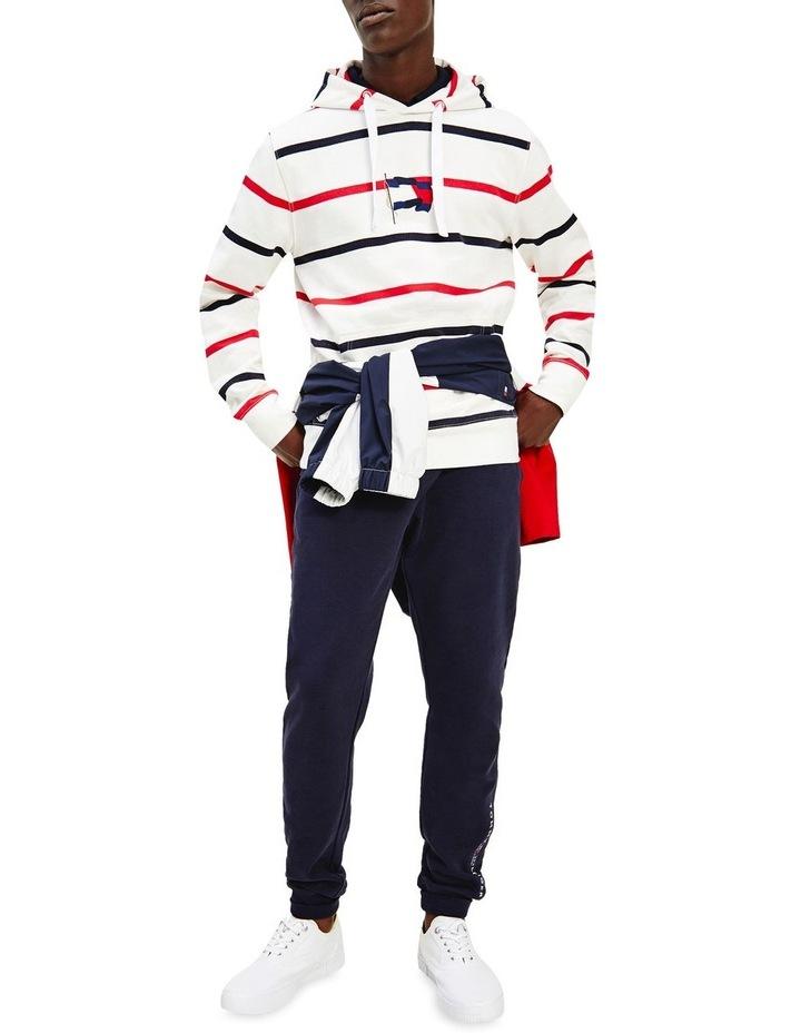Wavy Flag Stripe Hoodie image 1