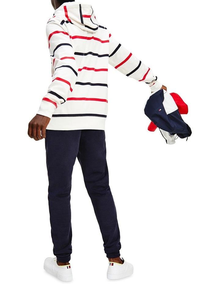 Wavy Flag Stripe Hoodie image 2