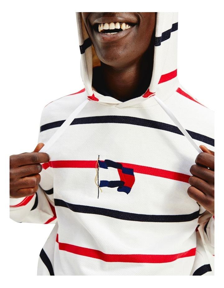 Wavy Flag Stripe Hoodie image 3