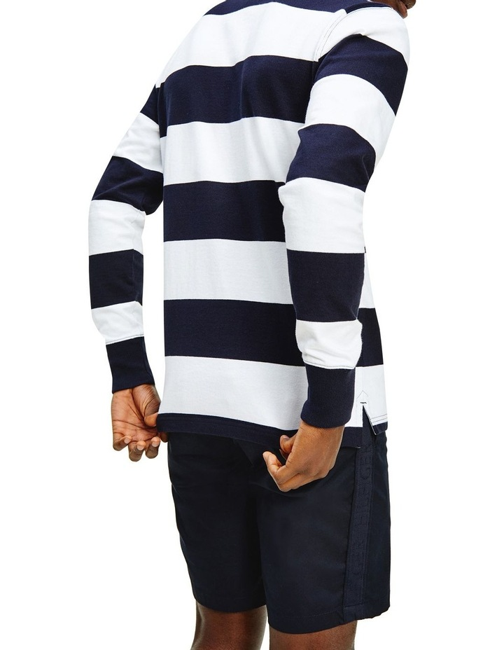 Iconic Block Stripe Rugby image 2