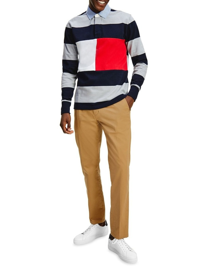 Fashion Block Stripe Rugby image 1