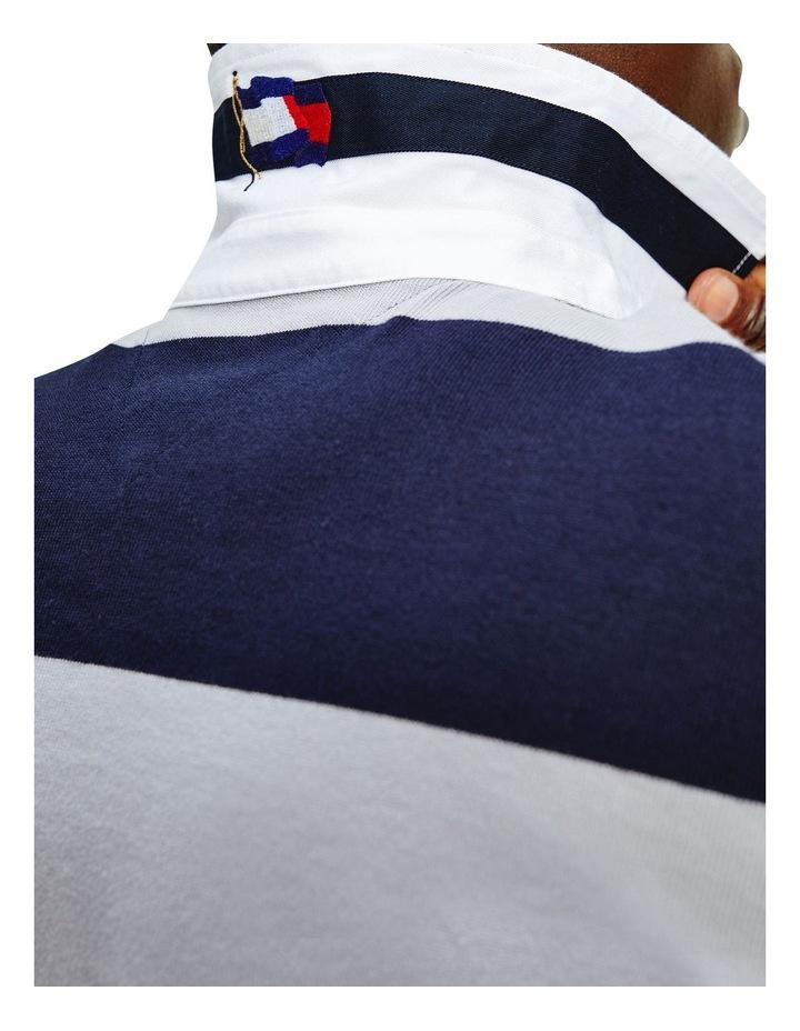 Fashion Block Stripe Rugby image 3