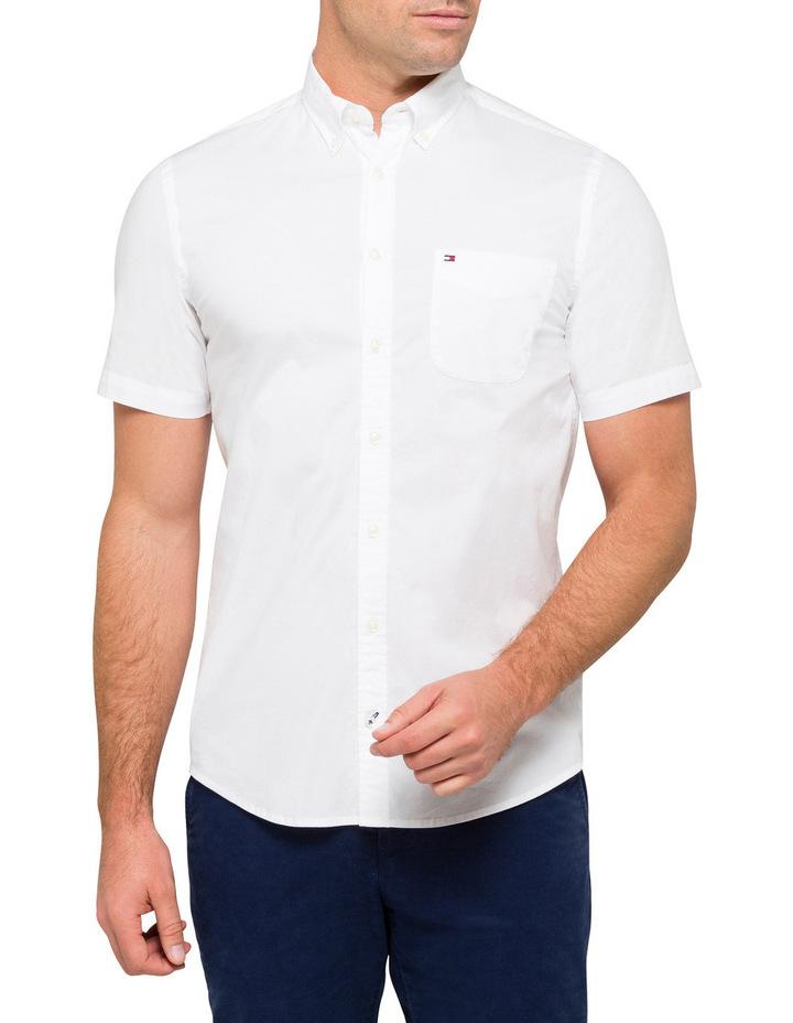 Stretch Poplin Short Sleeve Shirt image 1