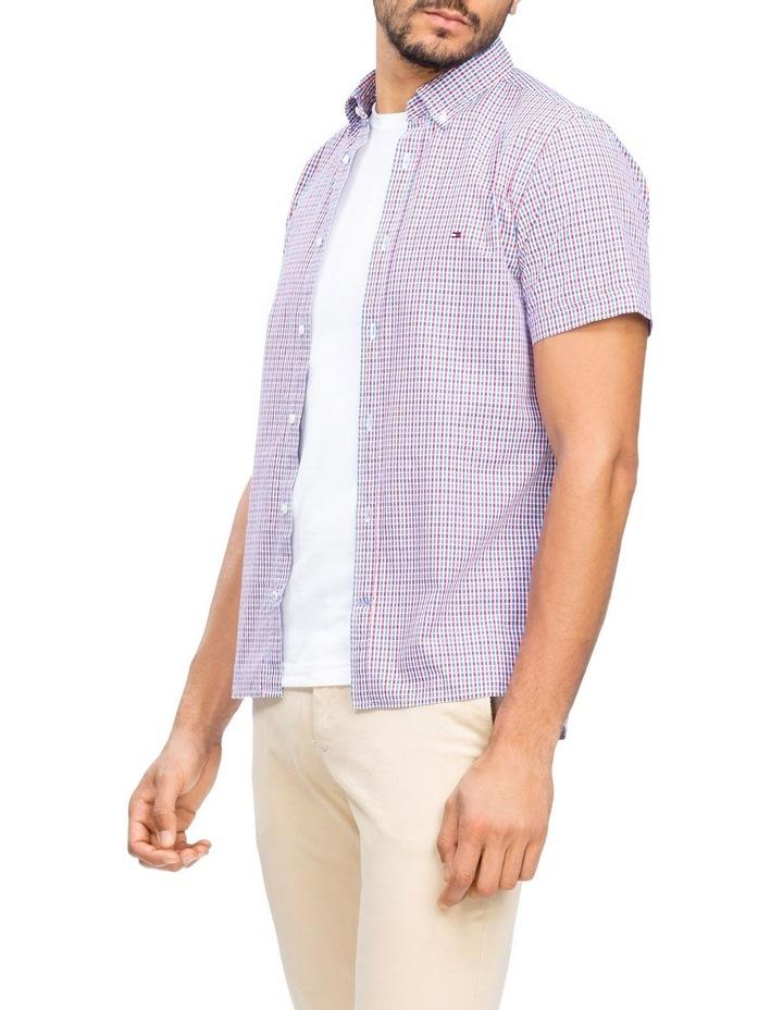 WCC Seersucker Multi Gingham Short Sleeve Shirt image 1