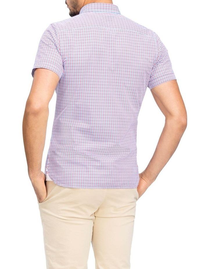 WCC Seersucker Multi Gingham Short Sleeve Shirt image 2