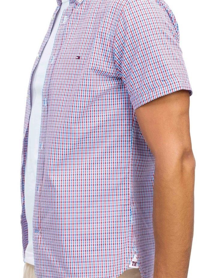 WCC Seersucker Multi Gingham Short Sleeve Shirt image 3