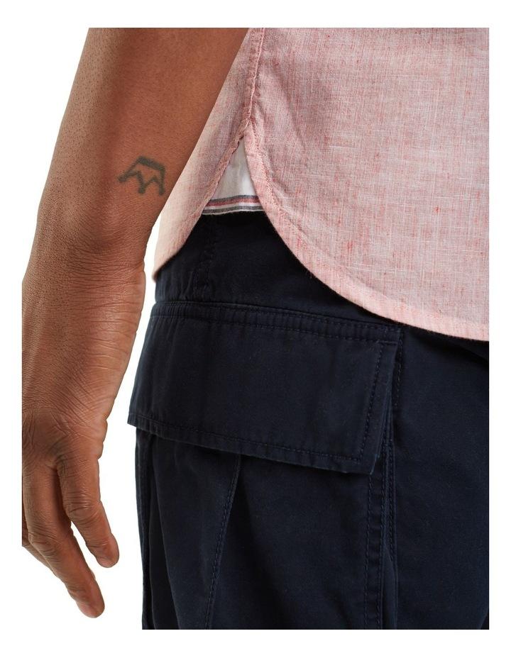 Cotton Linen Short Sleeve Shirt image 4