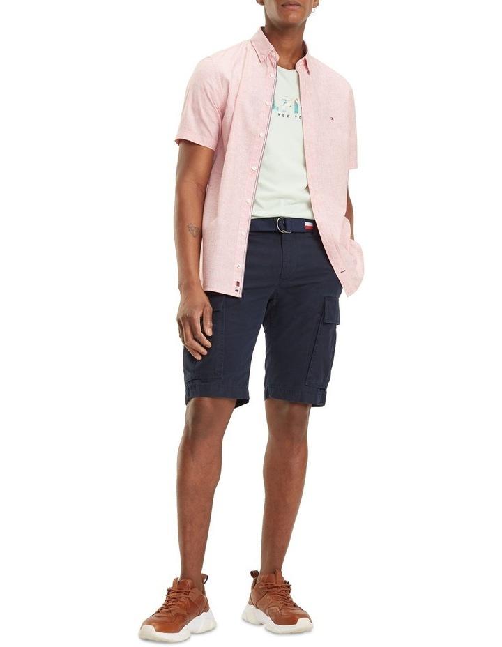 Cotton Linen Short Sleeve Shirt image 5
