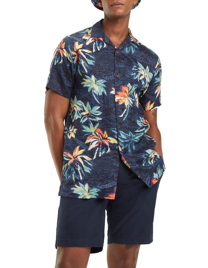 Hawaiian Print Short Sleeve Shirt image 1