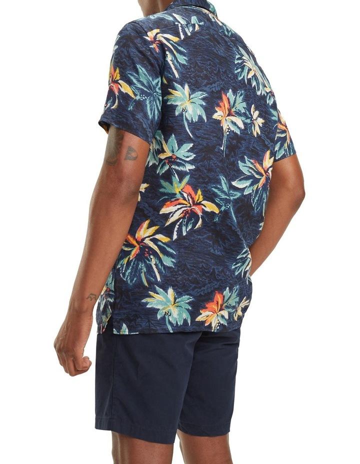 Hawaiian Print Short Sleeve Shirt image 2