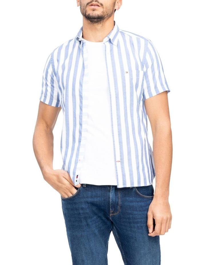 Bold Stripe Short Sleeve Shirt image 1