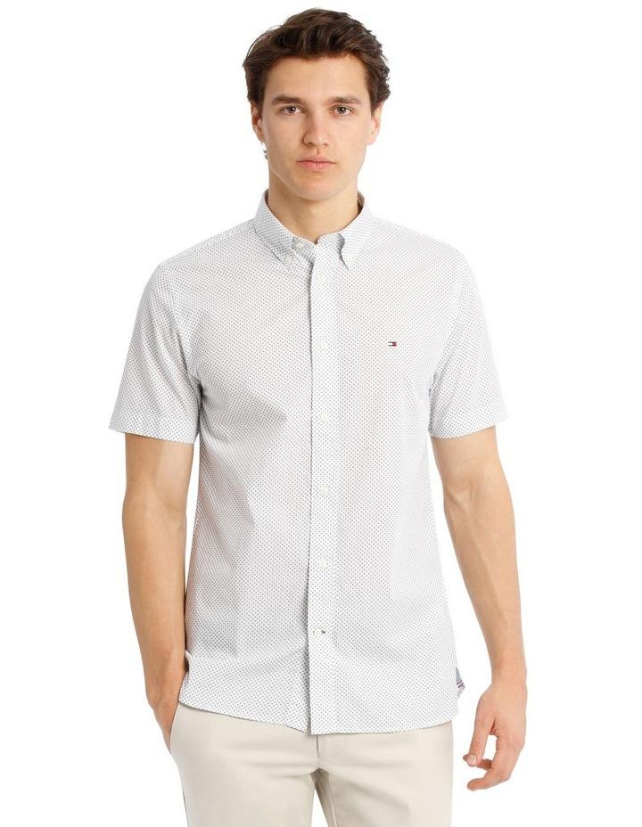 Slim Star Print Short Sleeve Shirt image 1