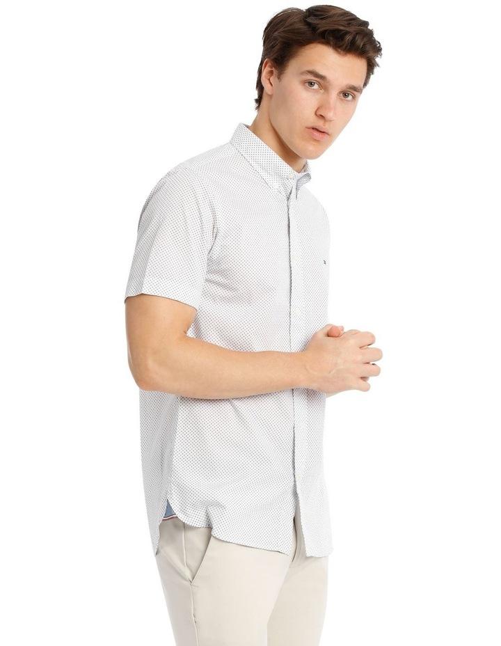 Slim Star Print Short Sleeve Shirt image 2