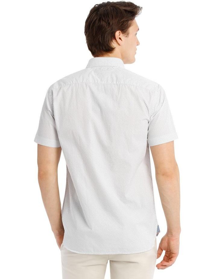 Slim Star Print Short Sleeve Shirt image 3