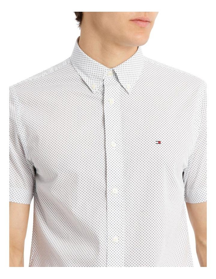 Slim Star Print Short Sleeve Shirt image 4