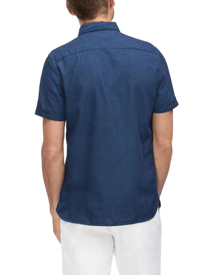 WCC Slim Cotton Linen Short Sleeve Shirt image 2