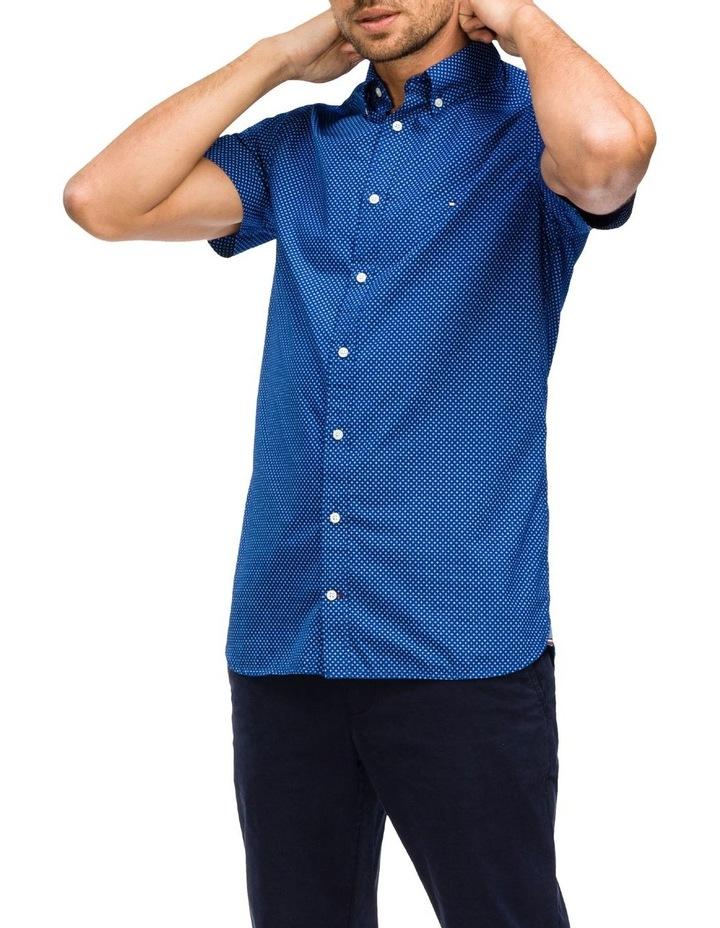 WCC Slim Star Print Short Sleeve Shirt image 1