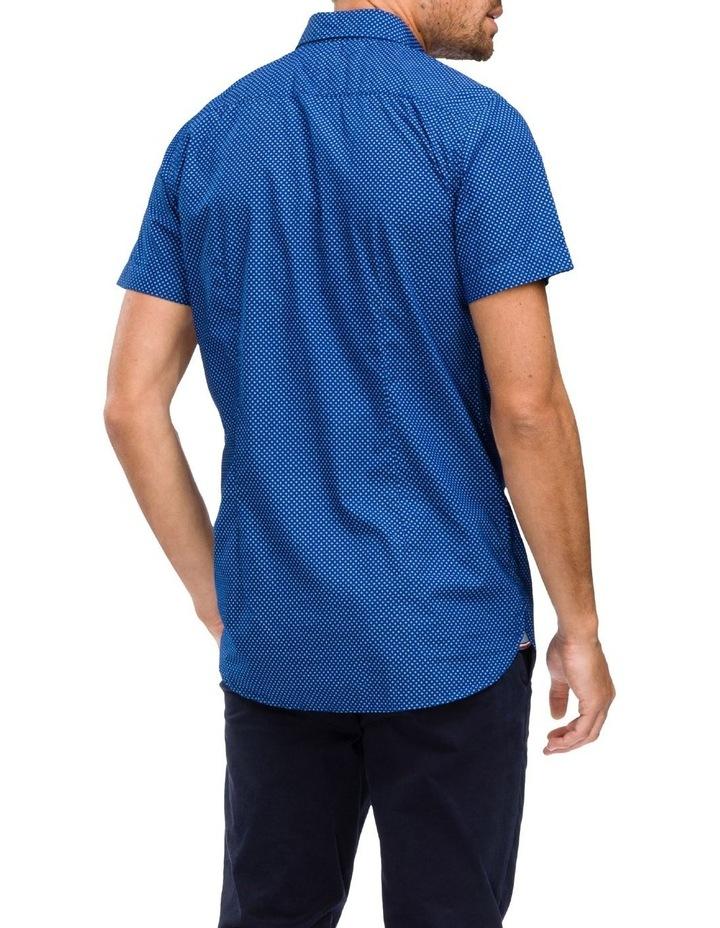 WCC Slim Star Print Short Sleeve Shirt image 2